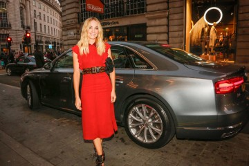 Joanne Froggatt arriving to help announce the Breakthrough Brits.