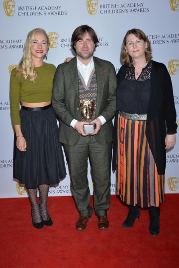 Paddington wins the Feature Film category at the British Academy Children's Awards in 2015, presented by Maddy Hill.