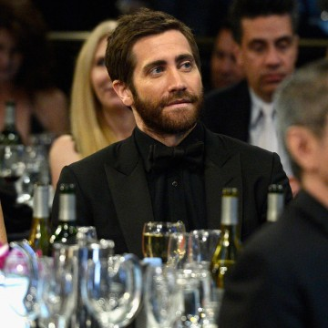 Jake Gyllenhaal presented Ang Lee with the John Schlesinger Britannia Award for Excellence in Directing .