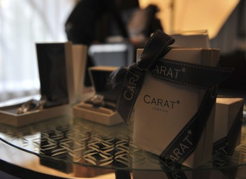 CARAT* jewellery at the Television Awards Style Suites
