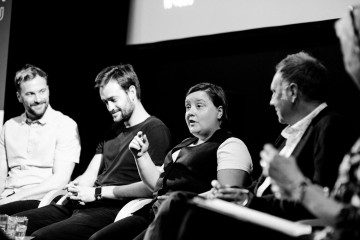 Ian Greenhill, Jordan Laird, Susan Calman & Phil Edgar-Jones