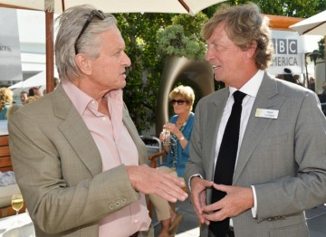 Michael Douglas and Nigel Lythgoe