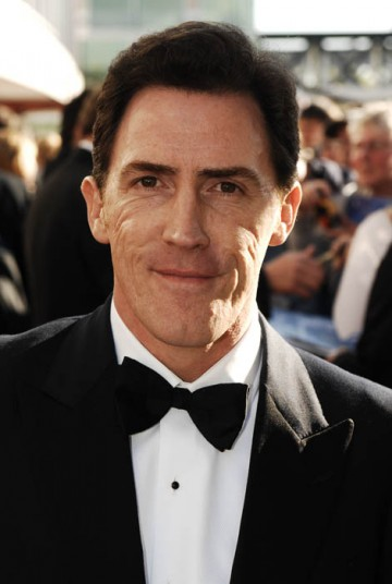 Gavin and Stacey star Rob Brydon arrives for the British Academy Television Awards to find out whether the show can scoop another BAFTA after picking up two awards last year (BAFTA/Richard Kendal).