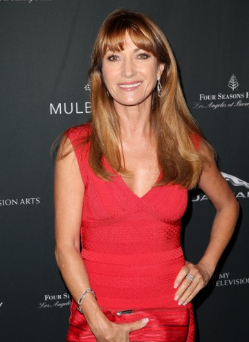 Jane Seymour arriving at the BAFTA LA 2014 Awards Season Tea Party.