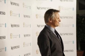 Viggo Mortensen arrives at the BAFTA Nespresso Nominees' Party at Kensington Palace