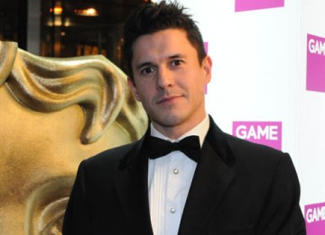 Jeremy Edwards arrives at the London Hilton Hotel to present the Game Award of 2008 - the only Award voted for by the public  (BAFTA / James Kennedy).