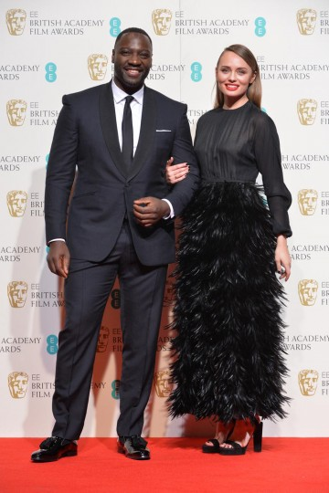 Presenters of the Documentary award: Adewale Akinnuoye-Agbaje and Laura Haddock