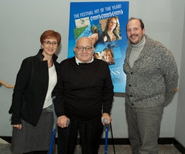 Producer Judi Levine, Director Ben Lewin and Moderator Steve Messere