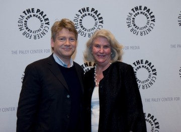 Kenneth Brannagh and Rebecca Eaton