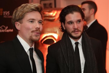 Joe Dempsie and Kit Harrington