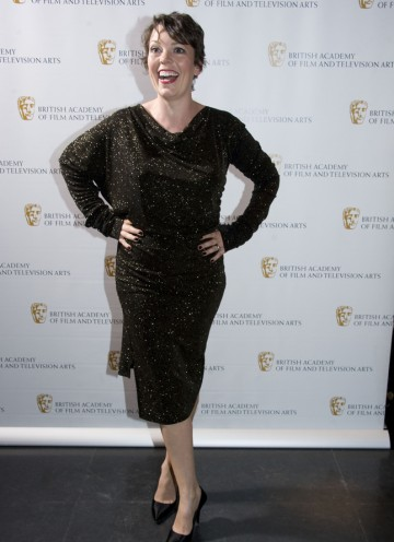 Presenting the Editing: Fiction award tonight is Peep Show and Twenty Twelve star, Olivia Colman. (Pic: BAFTA/Chris Sharp)