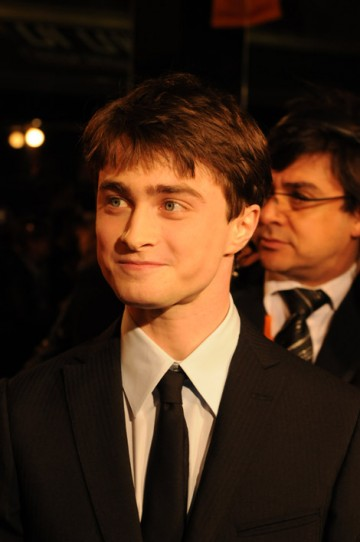 Harry Potter star Daniel Radcliffe on the red carpet in 2008.