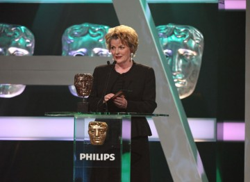 English actress Brenda Blethyn introduces the Leading Actor award.