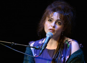 Actress Helena Bonham Carter.