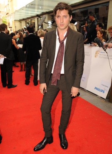 The co-frontman of The Libertines arrives. (Pic: BAFTA/Richard Kendal)