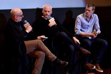 Joe Neumaier, Martin McDonagh, Graham Broadbent