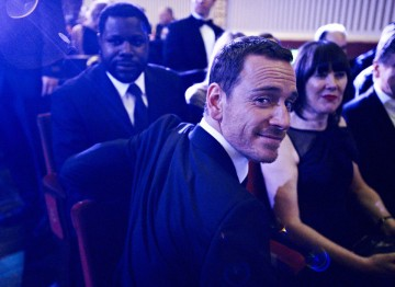Michael Fassbender at the 2012 Film Awards