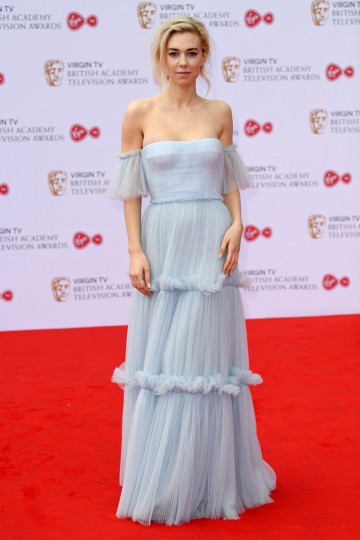 Vanessa Kirby looks every bit the royal on the red carpet