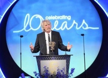 Thin Lizzy rocker Scott Gorham was an apt choice to present the Original Television Music award (BAFTA / Richard Kendal).