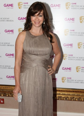 Gadget Show and Motor GP presenter Suzi Perry arrives at the BAFTA Video Game Awards 2010..