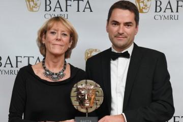 Event: British Academy Cymru AwardsDate: 8 October 2017Venue: St David's Hall, Cardiff, WalesHost: Huw Stephens