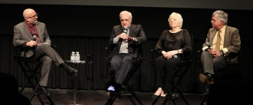 Joe Neumaier, Martin Scorsese, Thelma Schoonmaker, Jay Cocks