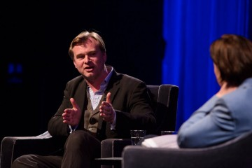 Christopher Nolan delivered the 2015 Breakthrough Brits keynote speech