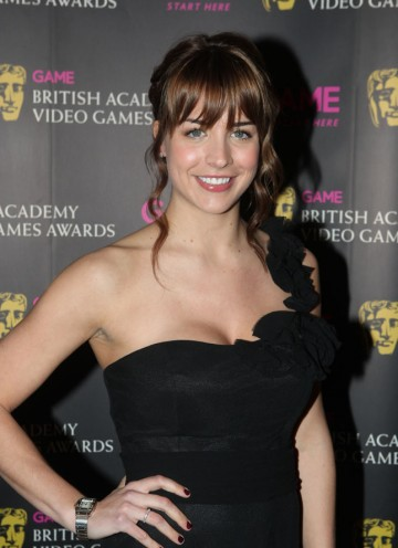 The Hollyoaks actress has also done voice work on the Command And Conquer: Red Alert 3 series. (Pic: BAFTA/Steve Butler)