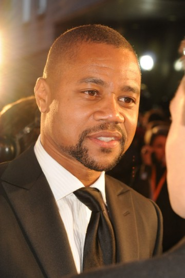Cuba Gooding Jnr on the red carpet at the Orange British Academy Film Awards.