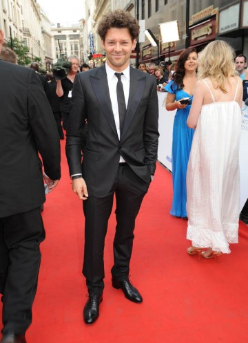 Coupling star Richard Coyle arrives on the red carpet (BAFTA/Richard Kendal).