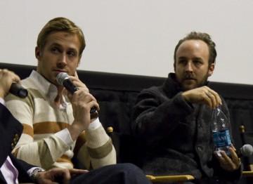 Director Derek Cianfrance and Ryan Gosling