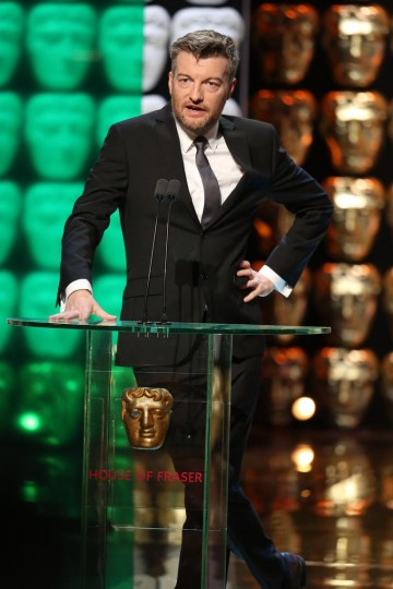 Charlie Brooker presents the Special Award