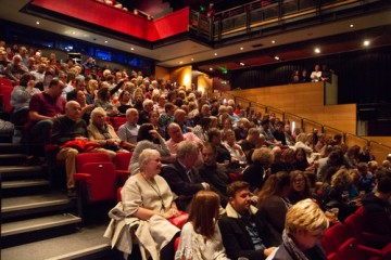 Audience at Rhys Ifans event