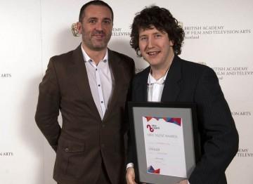 Winner for Original Music: Chris Bradley for Killer, presented by Stewart Fleming (PRS for Music)