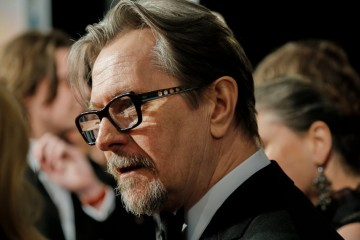 Gary Oldman arrives on the red carpet