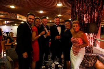 Event: British Academy Cymru AwardsDate: 8 October 2017Venue: St David's Hall, Cardiff, WalesHost: Huw Stephens-Area: Champagne Reception