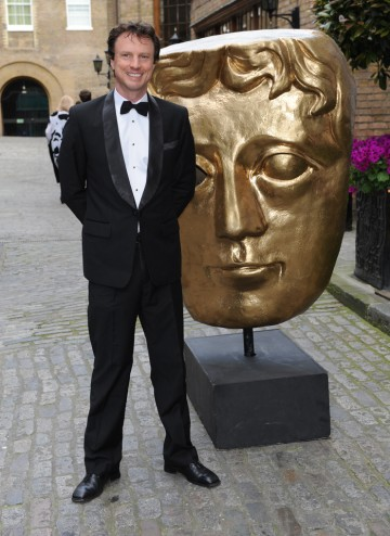 English Actor Jonathan Firth arrives at the Television Craft Awards to present the BAFTA for Directing: Fiction.