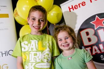 Some very happy Tati fans© BAFTA Cymru / JON POUNTNEY