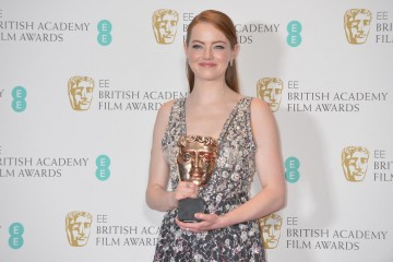 Emma Stone, winner of the Leading Actress Award.