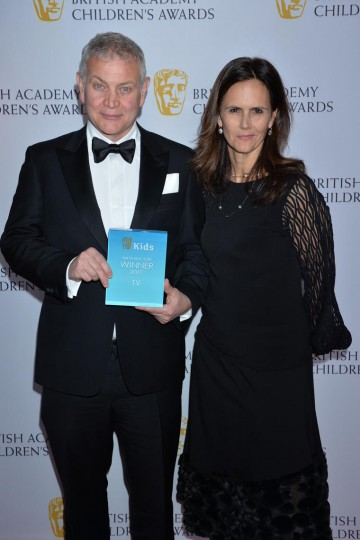The Next Step wins the Kids Vote - TV category at the British Academy Children's Awards in 2015, presented by Bex and Sean from Fun Kids Radio.