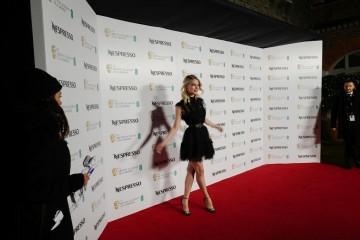 Anya Taylor-Joy arrives at the BAFTA Nespresso Nominees' Party at Kensington Palace