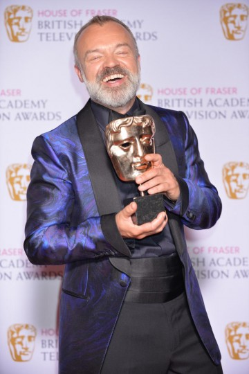 The BAFTA for Comedy and Comedy Entertainment Programme in 2015 was won by The Graham Norton Show.