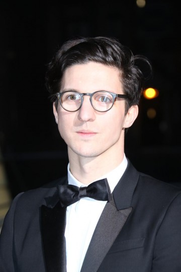 Dan Croll arrives on the red carpet