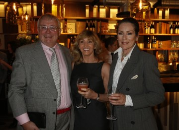 Christopher Biggins, Nicola Hill and Lorraine Chase