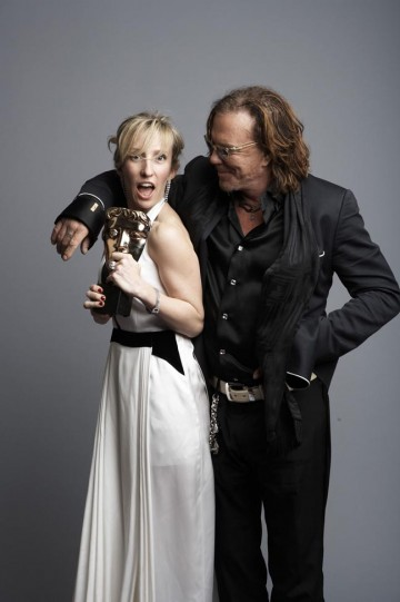 Sam Taylor-Wood and Mickey Rourke