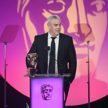 Paul McNamara accepts the award for Director: Multi Camera sponsored by The London Studios at the British Academy Television Craft Awards in 2015