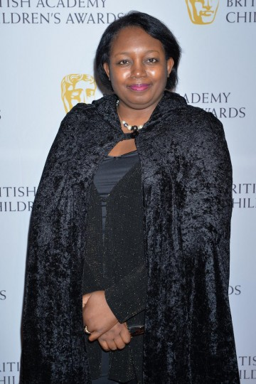 Malorie Blackman OBE at the British Academy Children's Awards in 2014