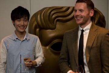 Scholars Wan Pin Chu with Gordon Napier