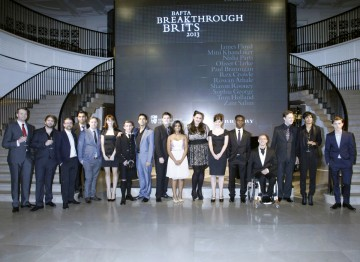 The Breakthrough Brits gather at Burberry.