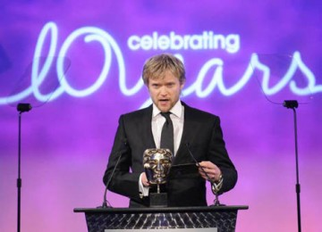 Hustle star Marc Warren presented the first award of the evening, Photography & Lighting Fiction/Entertainment (BAFTA / Richard Kendal).